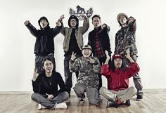 Gorilla Crew Dancers House Taesung, Nupchi, House Taek, Kibum, Hochan, Woosung, Kimil