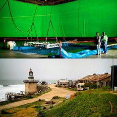 Did you know #Rosarito is home to a film studio? Some movies like Titanic and little boy were filmed here. Currently Fear the Walking Dead is being filmed. When it's not being used for movie making, Baja Studios opens to the public and they show you around their enormous water tanks and movie props!