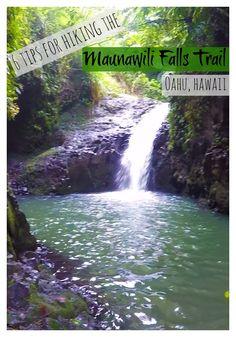 Tips you need to know before hiking the Maunawili Falls Trail. Oahu, Hawaii.