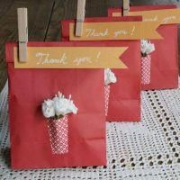 Paper Vase Gift Bags {Thank You Gifts}
