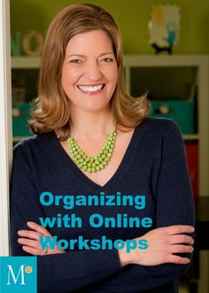 Geralin Thomas' interview with Aby Garvey about her business model of offering online organizing workshops. Very interesting!