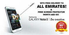 Get the BEST Samsung Galaxy Note 2 deal right here at NailtheDeal! We're bringing you this Android phenomenon at an awesome price of AED 2259 only with FREE delivery to all Emirates! Delivery made within 48 hours! Very limited stock!