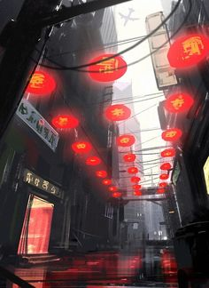 Cool Concept Art by Lorenz Hideyoshi Ruwwe