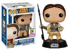 Princess Leia [Boushh Unmasked] - Star Wars Funko Pop! - SDCC Exclusive 2015