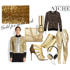 """Gold for Good Luck- Happy Chinese New Year"" by niche-magazine on Polyvore"