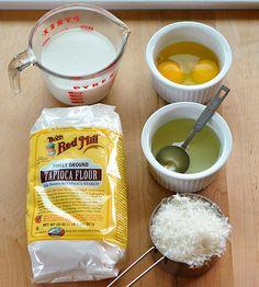 Brazillian Cheesy Puff ingredients