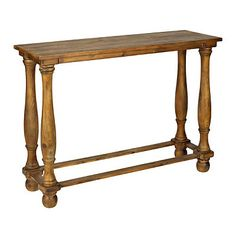 Tivoli Wood Console Table | Kirklands