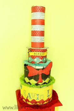 This is a diaper cake...absolutely adorable!!!!