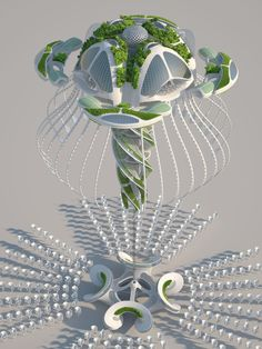 """Gallery of Vincent Callebaut Imagines """"Oceanscrapers"""" 3D Printed from Recycled Trash - 30"""