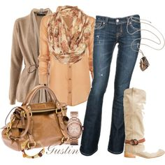 fall color, created by gustinz.polyvore.com