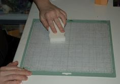 recondition your cricut mats with a magic eraser Then tape off the green sides with painter's tape and spray easy tack on the mat... good as new you'll never have to buy another matt!