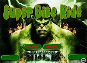 Hulk Super Bike Ride   Juegos de coches y Motos - jugar Carros online