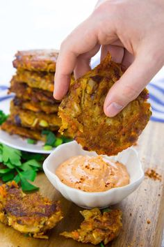 Vegetable Potato Fritters