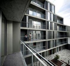 46 Social Houses,© Roland Halbe