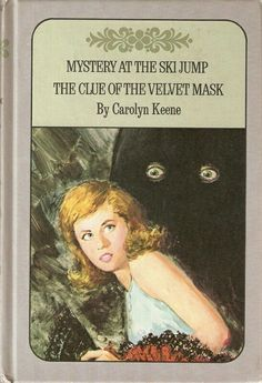 Nancy Drew Twin Thriller 2 in 1 Book Ski Jump Mystery Clue of the Velvet Mask Mystery Stories, Mystery Books, Library Books, New Books, Nancy Drew Books, From Here To Eternity, Nancy Drew Mysteries, The Dark Tower, Birthday Book