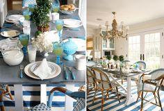 Breakfast is waiting.  Layering on plenty of style!  :: Ashley Whittaker Design ::