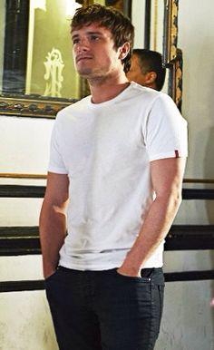 Josh Hutcherson in Spain 4/15/15