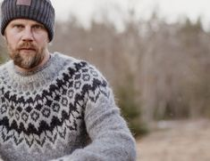 Icelandic Sweaters, Handicraft, Men Sweater, Turtle Neck, Pullover, Wool, Knitting, Jackets, Fashion