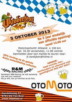 Otomoto viert feest! 5 jaar na de start van Otomoto nu dan toch echt een openingsfeest, in thema Oktoberfest.