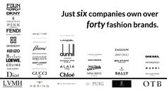 At a Glance: See How These Six Corporations Control the Luxury Fashion Industry