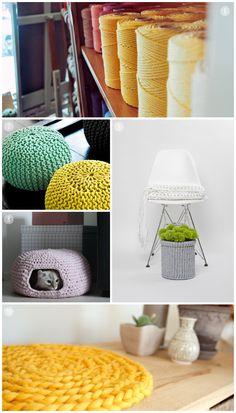 Ganchillo Crochet XL moodboard