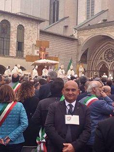 03/10/2013 Il Presidente Valerio Cattaneo ad Assisi-Incontro con Papa Francesco