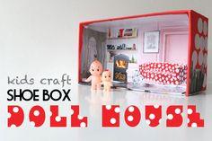 DIY Shoe Box Doll House
