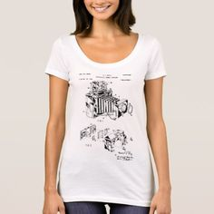 Vintage Camera Patent Women's T-Shirts - photography gifts diy custom unique special