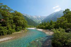 Kamikouchi National Park, Kappabashi, Japan