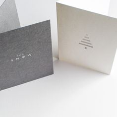 Cereal x Meticulous Ink Letterpress Christmas cards (set of 6)