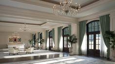 Atlanta Buckhead Hotels: The St. Regis Atlanta - Ballroom Prior to Decor
