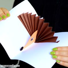 We are making a simple hedgehog pop up card today that is geared towards younger kids (kindergarteners and even younger kids will manage making this one). Ready for this fun fall project? Let's start! *This post contains affiliate links* We love crafts that pop, and following our fun peacock pop up cardwe though a hedgehog …