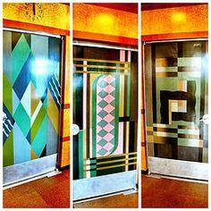 Wonderful U.S.Art Deco: Dining Roomu0027s Three Different Art Deco Doors, Union Terminal,  Cincinnati