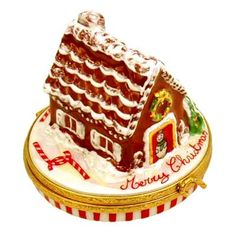 Artoria Gingerbread House with Candycanes Limoges Box @ Groundstrike.com