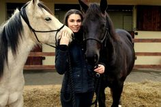 Equine therapist Hannah Rogers from Bridgend with two of her horses with which she helps boost people's confidence and provide them with counselling from her base near Cowbridge Therapeutic Horseback Riding, Horse Therapy, Types Of Horses, English Riding, Equestrian Outfits, Horse Training, Dressage, Counselling, Riding Helmets