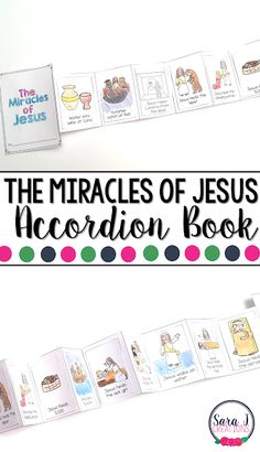The Miracles of Jesus Mini Book is the perfect activity for teaching kids about 12 of the miracles that Jesus performed Miracles Book, Miracles Of Jesus, Miracles Jesus Performed, Catholic Kids, Kids Church, Church Ideas, Catholic Crafts, Catholic Saints, Bible Lessons For Kids