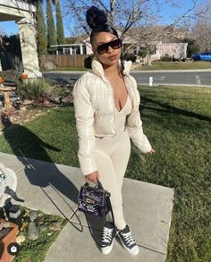 Baddie Outfits Casual, Lit Outfits, Swag Outfits For Girls, Cute Swag Outfits, Dope Outfits, Fashion Outfits, School Outfits, Black Girl Fashion, Teen Fashion