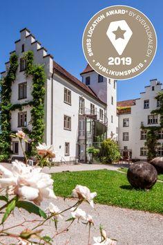 Swiss Location Award 2019: Der Publikumspreis für die beliebteste Tagungslocation geht an das Schloss Wartegg in Rorschach! Herzliche Gratulation! Alle ausgezeichneten Tagungslocations findet ihr hier: eventlokale.ch/gewinner-ueberblick