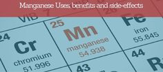 """Manganese is a chemical. As simple as possible. When hearing the word """"chemical"""", however, most people would go into fibrillations. Chemicals are by"""