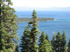 Emerald Lake, Lake Tahoe Emerald Lake, Lake Tahoe, Beautiful Places, Spaces, Mountains, Nature, Travel, Naturaleza, Viajes