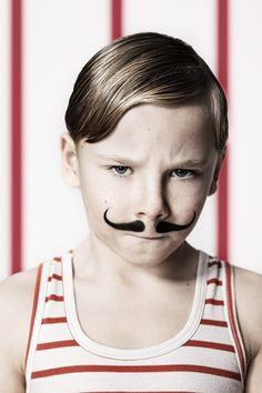 "Circus by Hotpotck , via Behance--cute halloween custome for little boy, ""circus muscle man"""