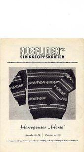 Ravelry: Husfliden Nr. 231, Herse