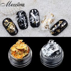 1 PCS Mezzling Gold Silver Aluminum Nail Art Foil Sticker Paper 3d Glitter UV Gel Polish Design Nail Decoration Tools | Check Best Price for 1 PCS Mezzling Gold Silver Aluminum Nail Art Foil Sticker Paper 3d Glitter UV Gel Polish Design Nail Decoration Tools. This Online shop provide the discount of finest and low cost which integrated super save shipping for 1 PCS Mezzling Gold Silver Aluminum Nail Art Foil Sticker Paper 3d Glitter UV Gel Polish Design Nail Decoration Tools or any product…