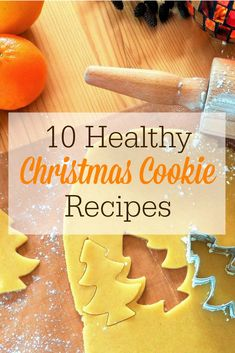 Looking for some healthy Christmas cookie recipes? Here are 10 of our favorite holiday cookies and treats. Some of them are allergen free, too! Healthy Christmas Cookies, Christmas Deserts, Holiday Cookies, Healthy Cookies, Christmas Goodies, Healthy Treats, Christmas Crafts, Homemade Taco Seasoning Mix, Homemade Tacos