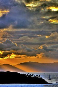 Sunset, Hamilton Island, Queensland, Australia