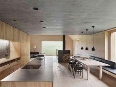 rustic minimal house