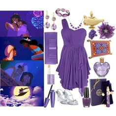Wonderful! Jasmine themed outfit