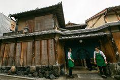 Starbucks w historycznej dzielnicy japońskiego Kioto
