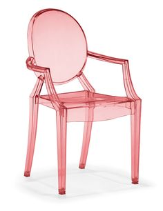 Baby Anime Chair Transparent Red - Zuo Modern and ProjectDecor.com