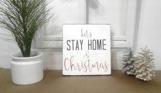 Farmhouse Christmas - Farmhouse Christmas Decor - Let's Stay Home